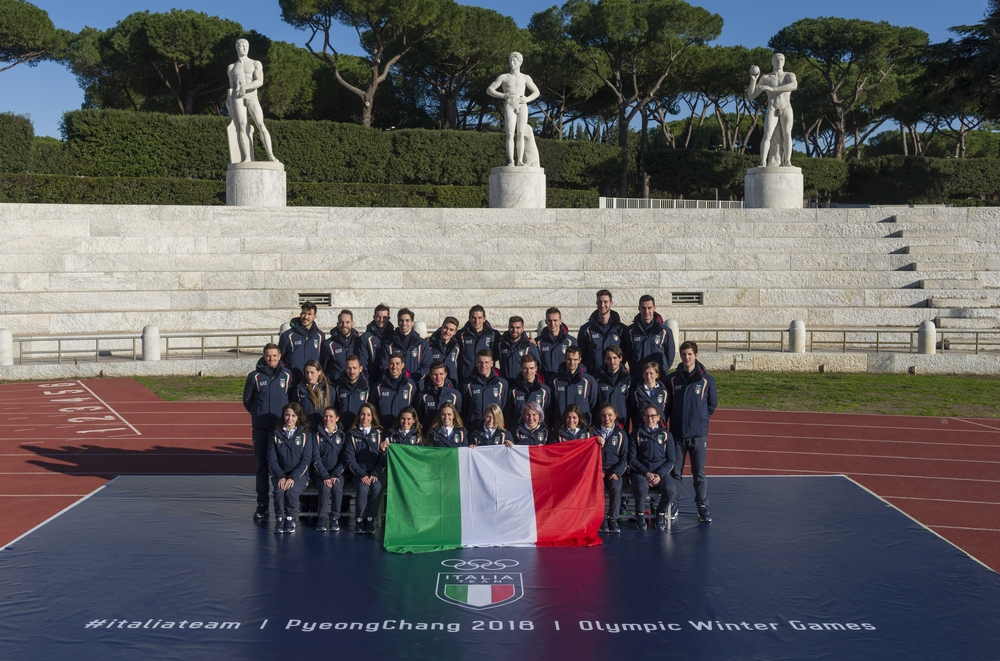 Giorgio Armani, official outfitter of the 2018 Italian Olympic and  Paralympic teams, will dress the athletes for the official opening ceremony  of the Winter ... f7a2d0e251a