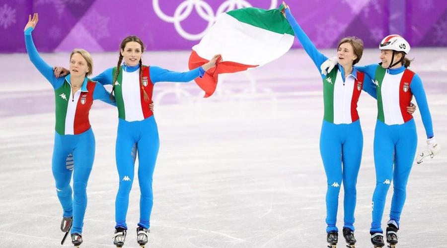 Silver for the women's relay. Seventh Italian Olympic medal