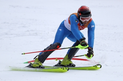 Alpine Skiing: Moelgg and Gross Slalom