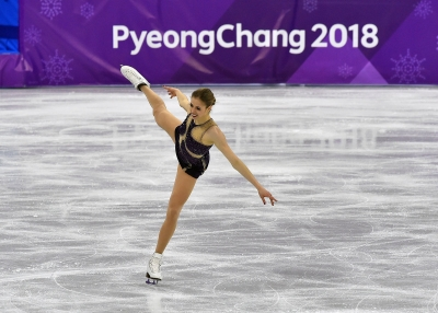 Carolina Kostner Free Skating