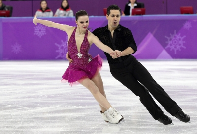 Figure skating, Cappellini and Lanotte 5th after short dance