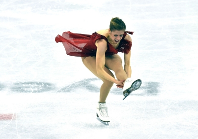 Figure skating: Carolina and Giada in the first single round