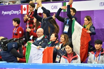 Figure skating team event: Italy 4° place