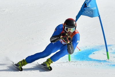 Giant Slalom Italian athletes