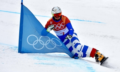 Snowboard: Fischnaller and Coratti Parallel Giant Slalom