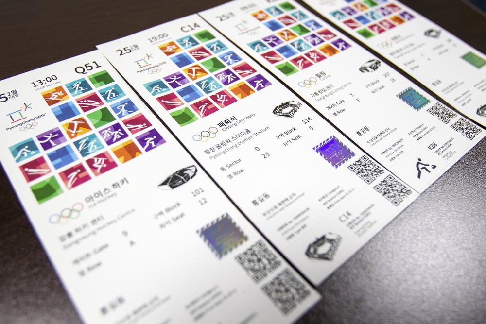 Ecco i biglietti di PyeongChang 2018. Per la prima volta acquistabili anche da mobile