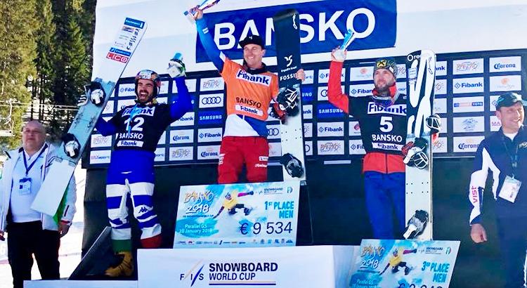 Coratti inarrestabile, ancora sul podio: 2° nel PGS di Bansko
