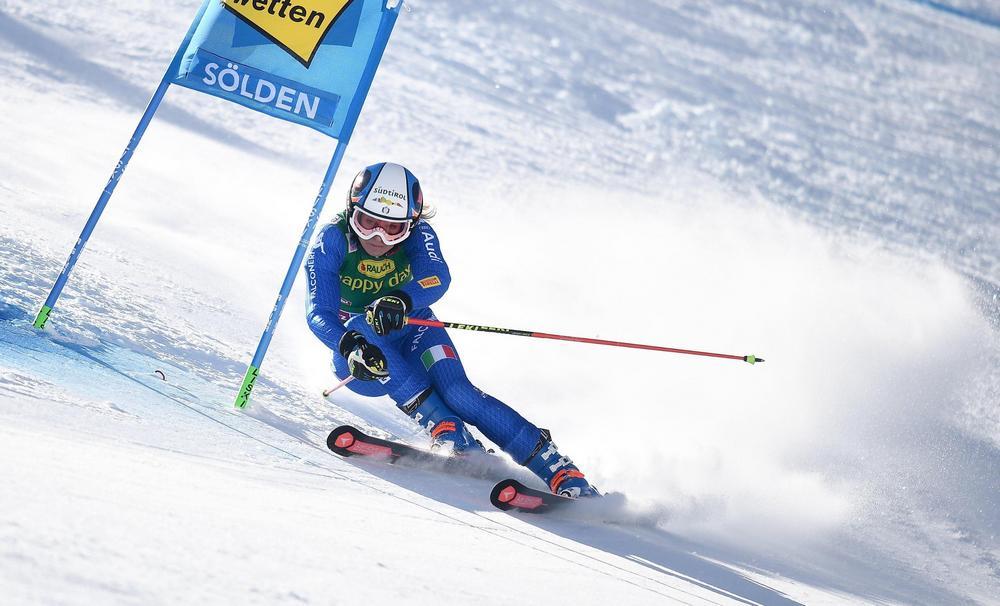 Coppa del Mondo, Manuela Moelgg terza nel gigante di Soelden
