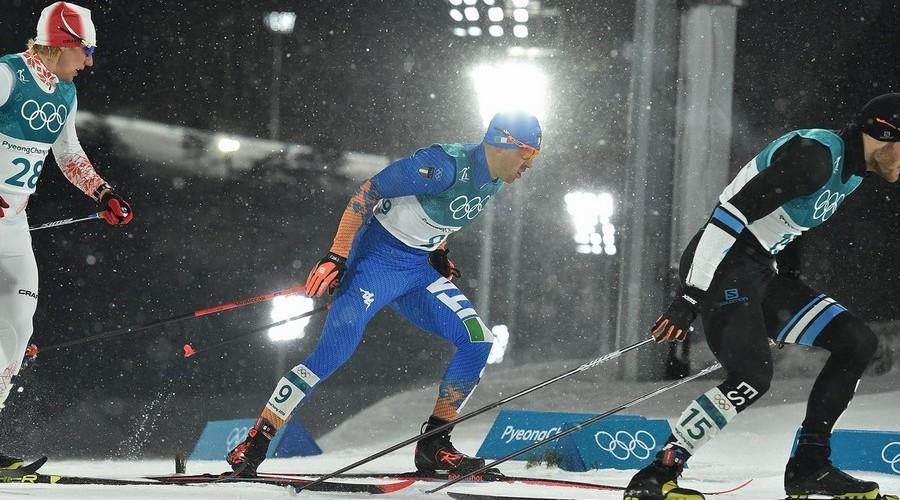 Federico Pellegrino wins silver in the Sprint Classic
